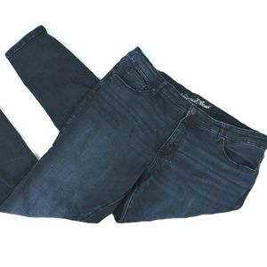 Universal Thread Womens Blue Jeans Size 18W Skinny